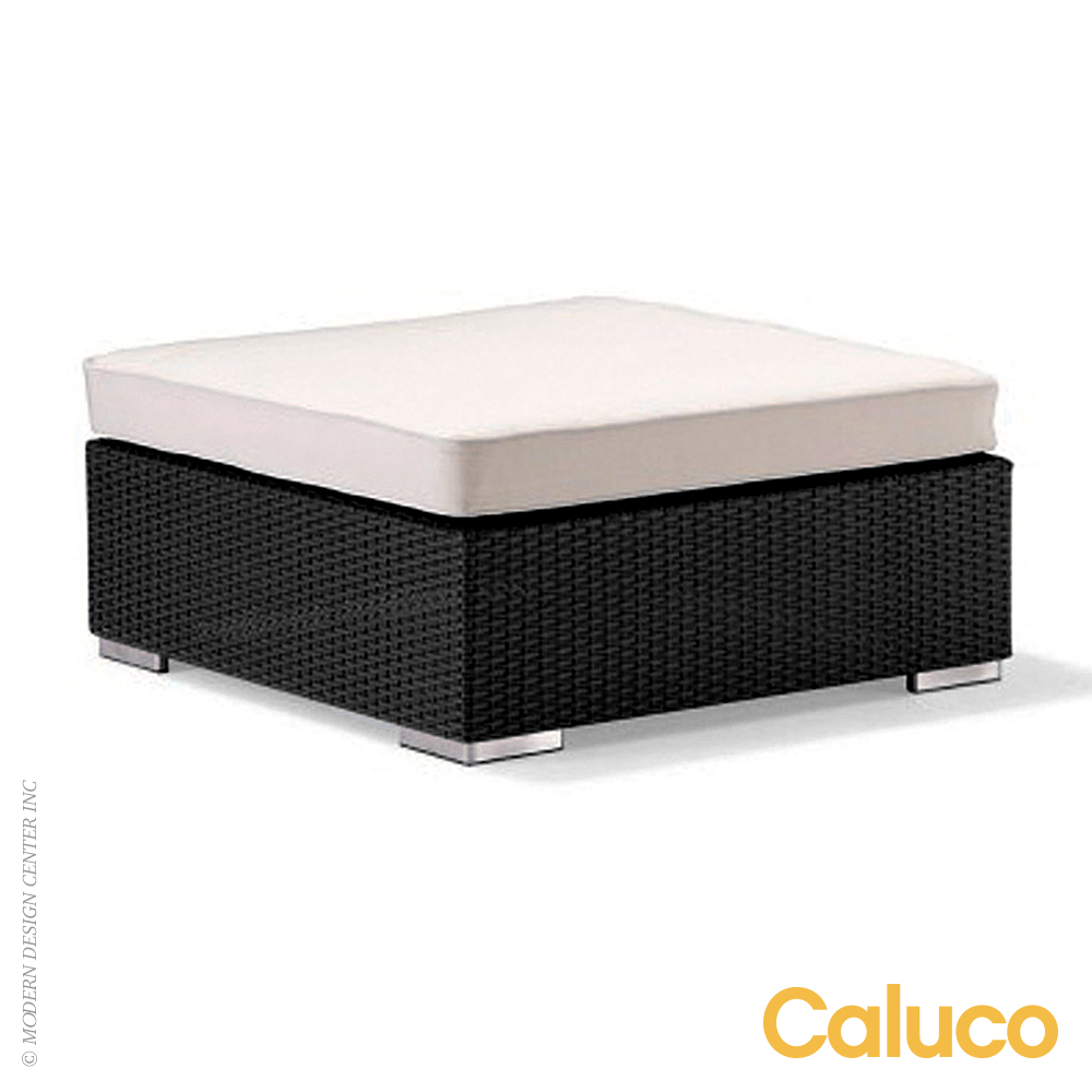 Dijon Sectional Ottoman | Caluco Patio Furniture