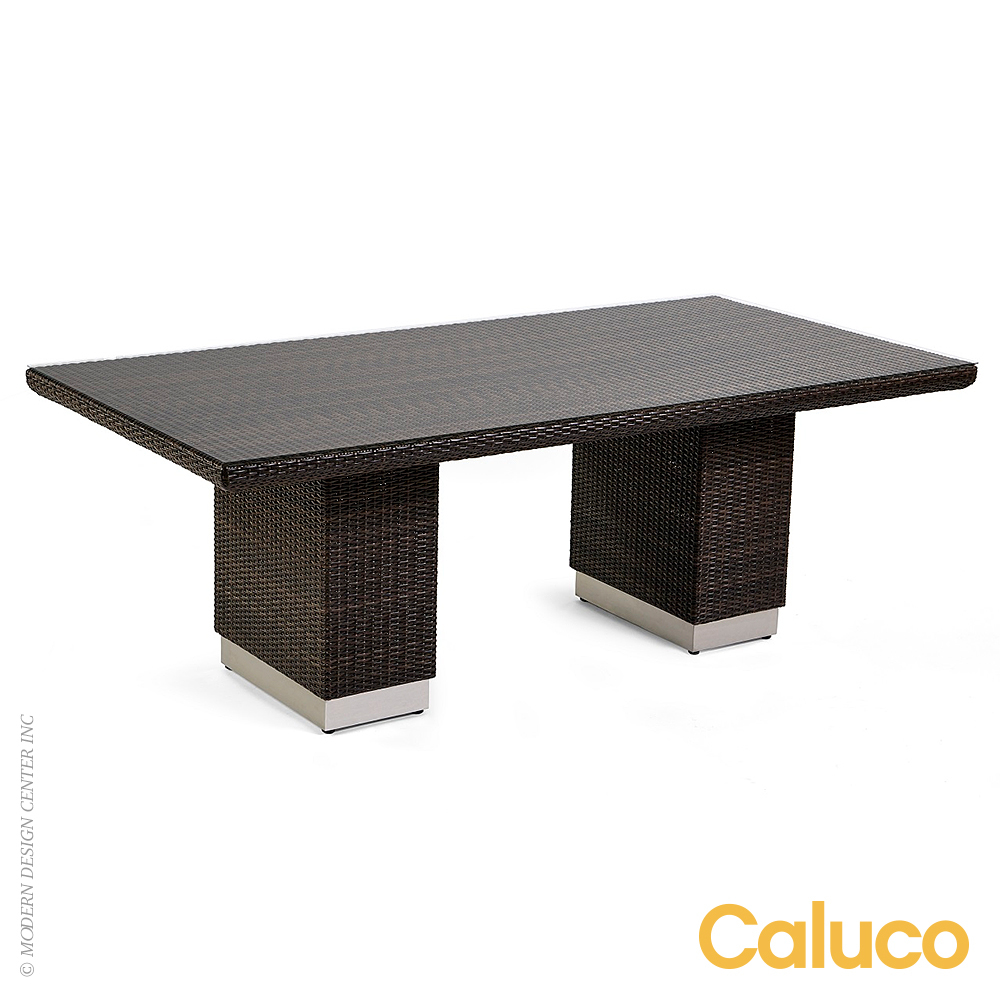 Mirabella Rectangle Dining Table | Caluco Patio Furniture