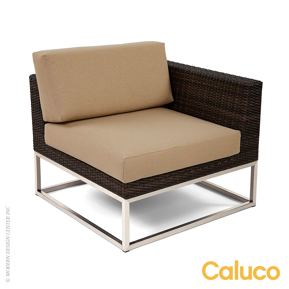 Mirabella Sectional Left | Caluco Patio Furniture
