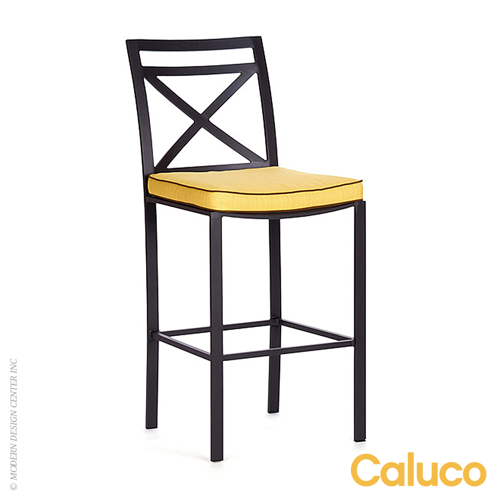 San Michelle Bar Height Chair Set of 2 | Caluco Patio Furniture