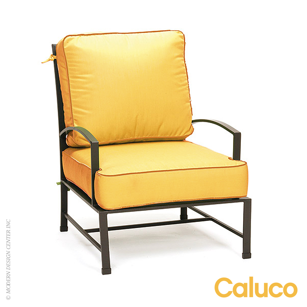 San Michelle Club Chair Set of 2 | Caluco Patio Furniture