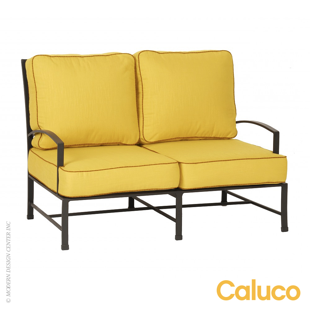 San Michelle Loveseat Set of 2 | Caluco Patio Furniture