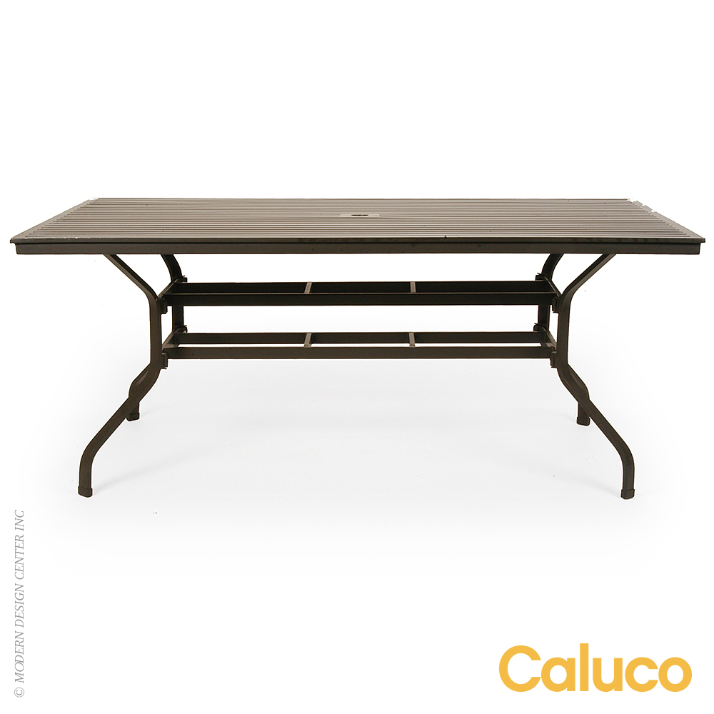 San Michelle Rectangle Dining Table | Caluco Patio Furniture