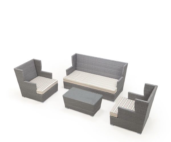 Ascent 4-Piece Outdoor Conversation Set | Ceets