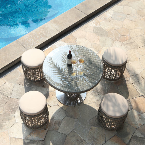 Basson 5-Piece Outdoor Pub Set | Ceets