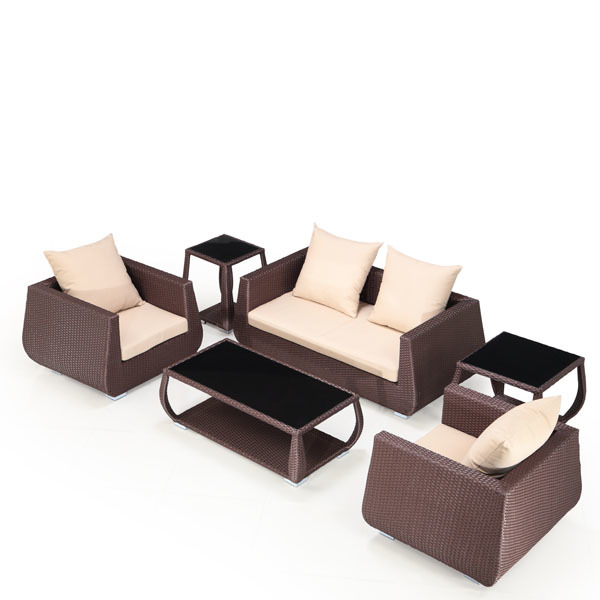 Bistre 6-Piece Outdoor Conversation Set | Ceets