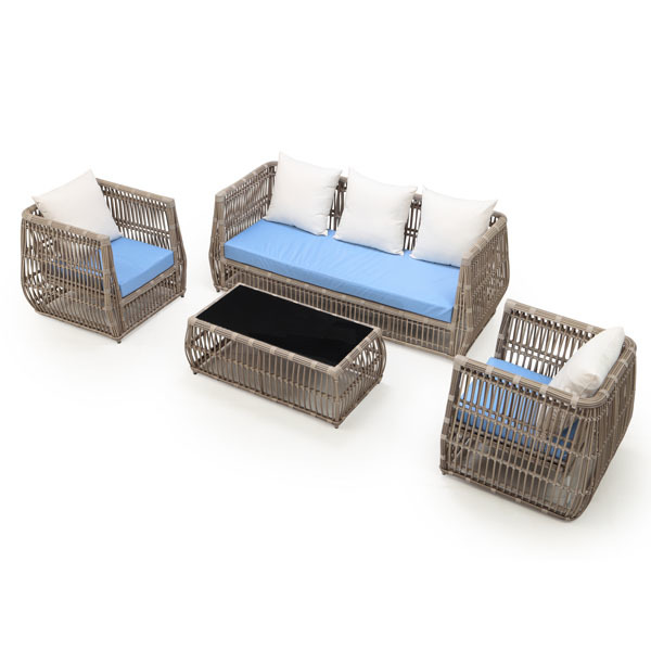 Chavaughn 4-Piece Outdoor Conversation Set | Ceets