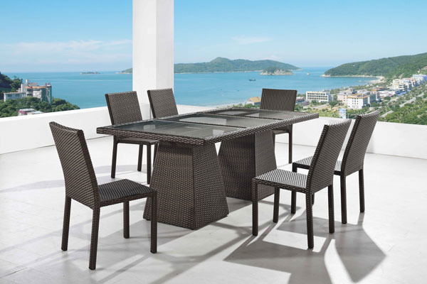 San Michelle Sectional Middle Set Of 2 Caluco Patio