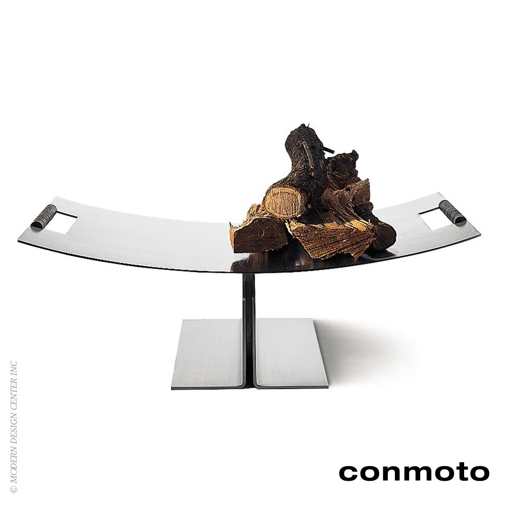 Peter Maly Fireside Log Holder | Conmoto