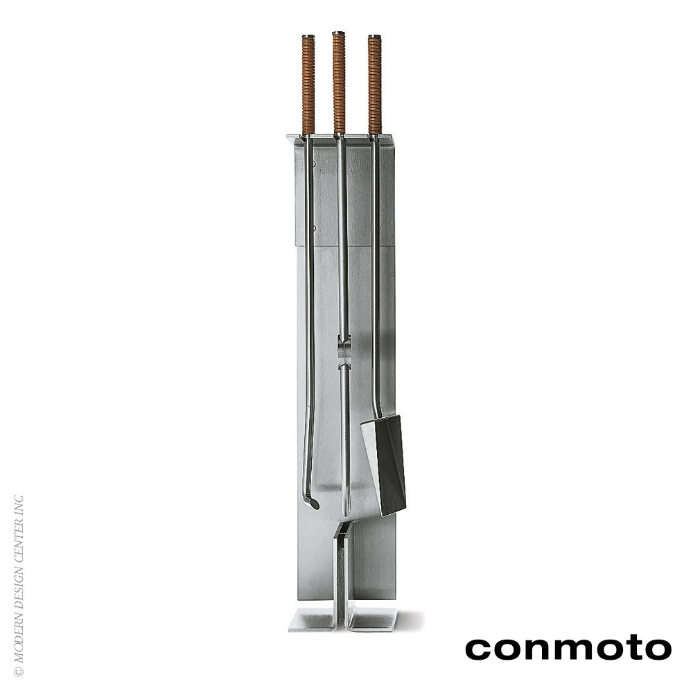 Peter Maly Fireside Tools With Stand - Set of 3 | Conmoto