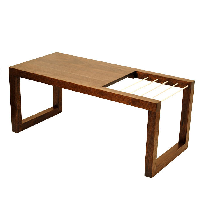 Tavo Coffee Table and Magazine Rack | Data Furniture