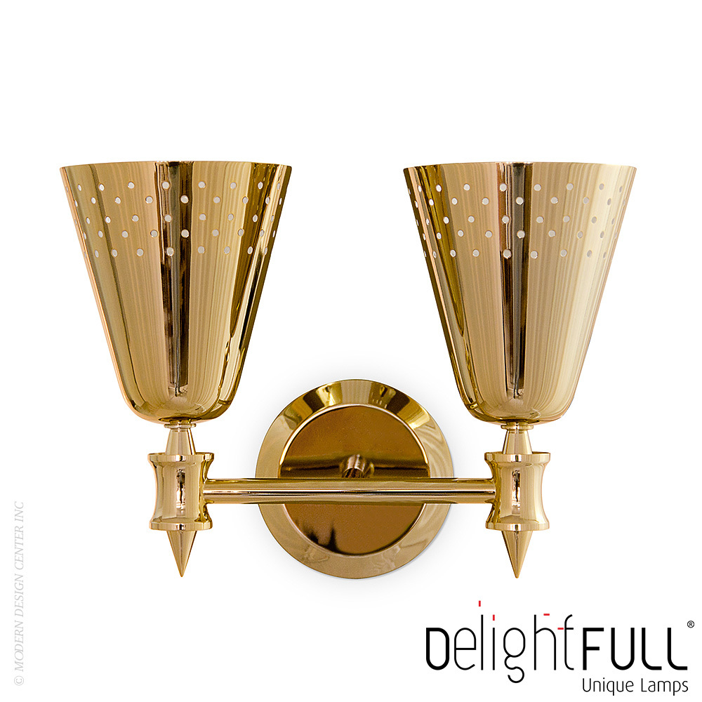 Charles 2 Wall Sconce | Delightfull