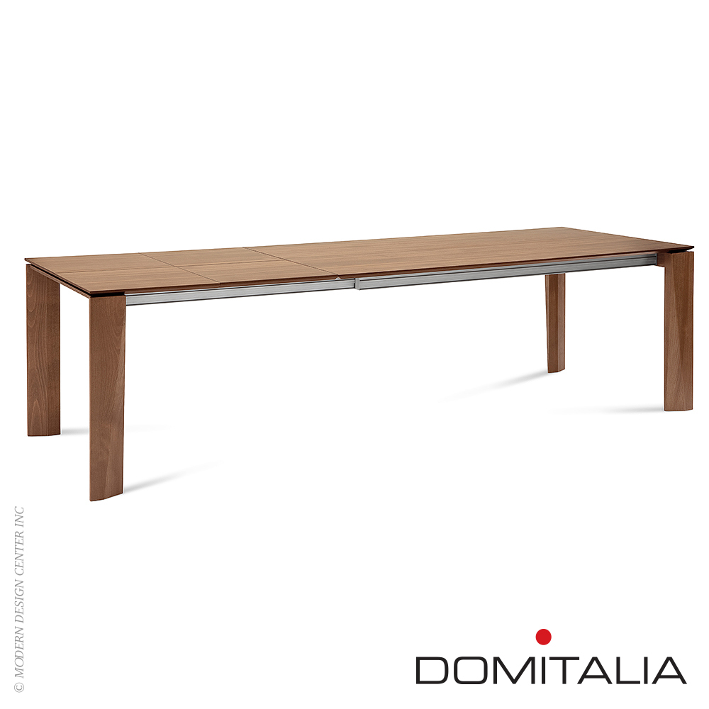 Maxim-182 Table Walnut Canaletto | Domitalia