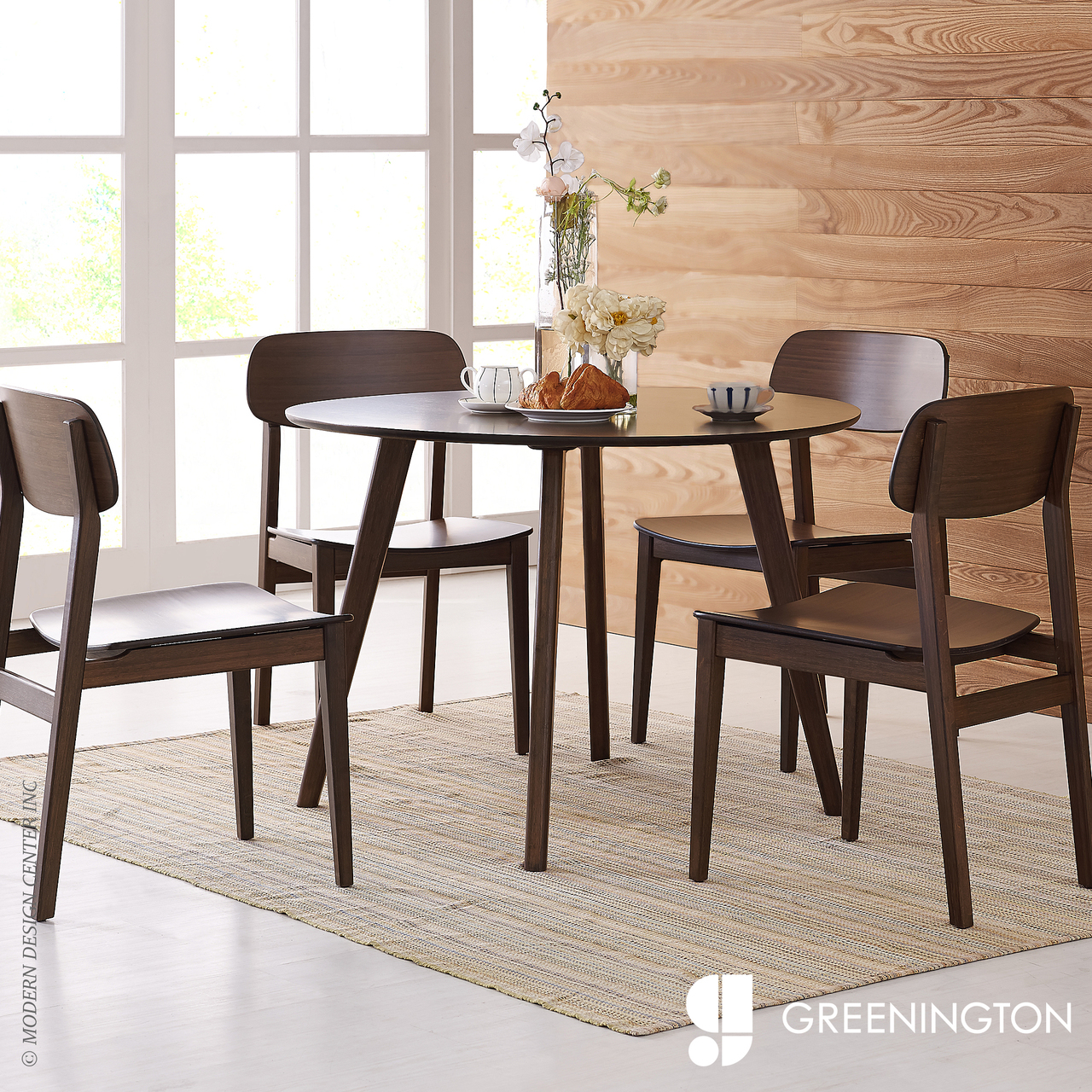 Currant Inch Round Dining Table Greenington MetropolitanDecor - 42 inch round dining room table