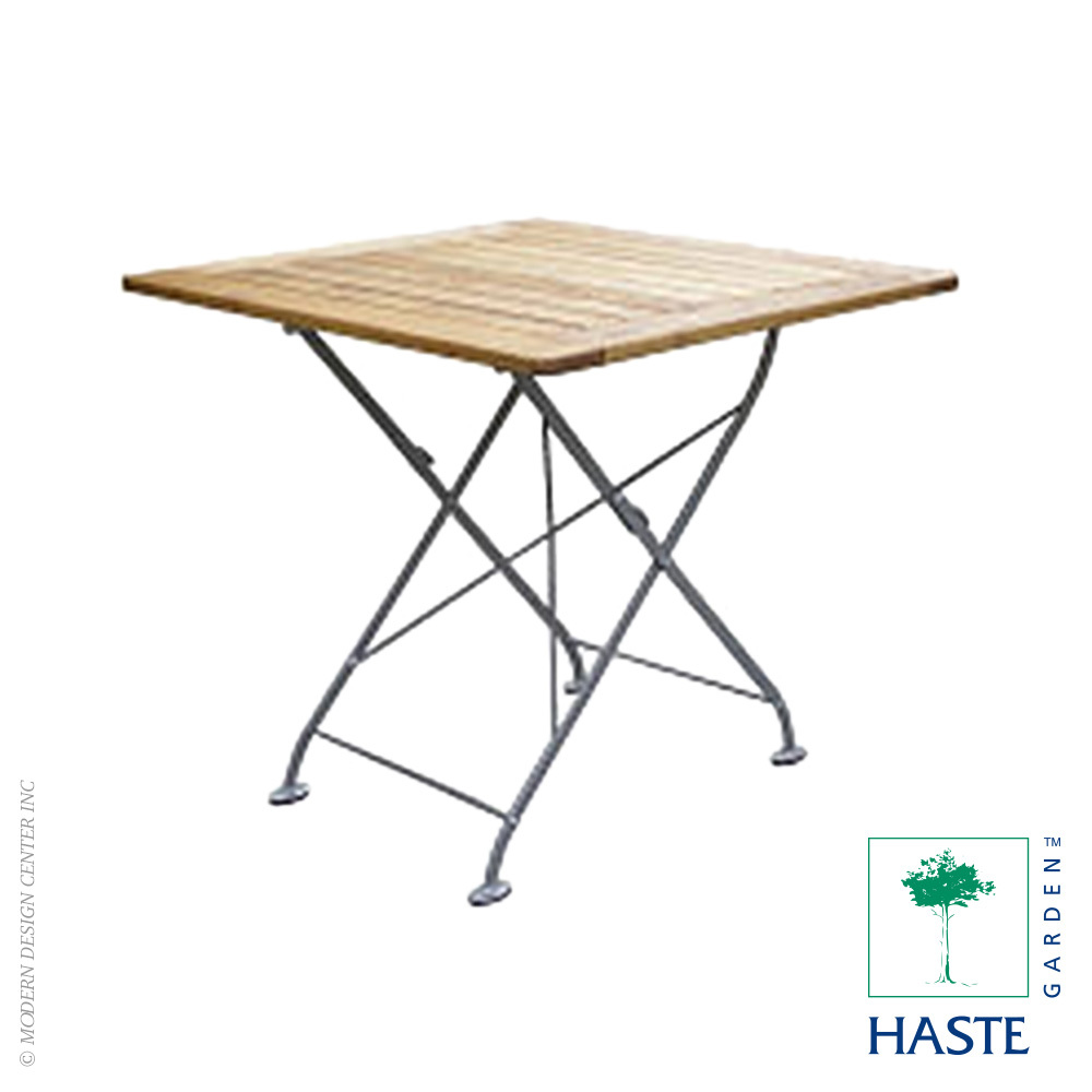 Elaine Folding Square Table | Haste Garden