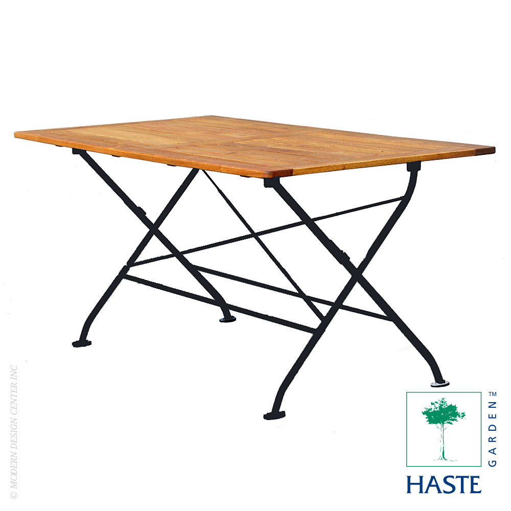 Felicia Folding Rectangle Table | Haste Garden
