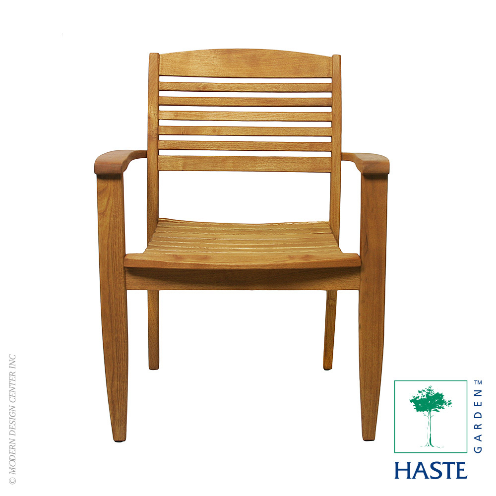 Iris Stacking Dining Armchair | Haste Garden
