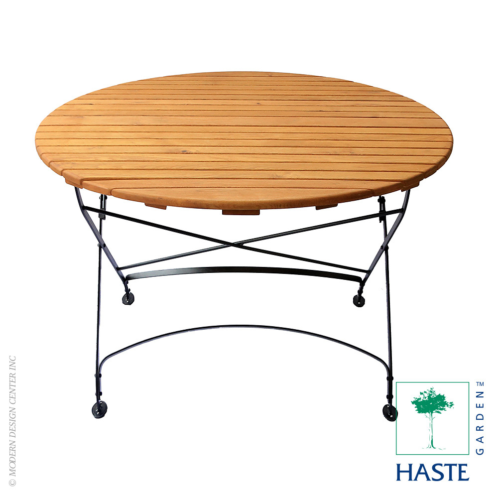 Rebecca Folding Large Round Table | Haste Garden