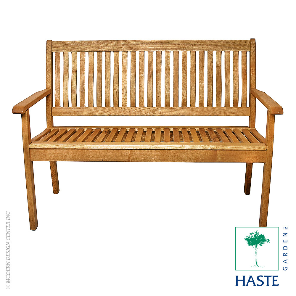 Riviera 2 Seater Bench | Haste Garden