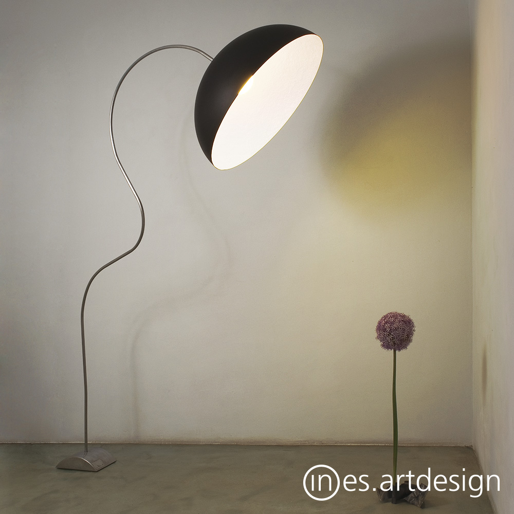 thomas shade papers height floor steel lamps in lamp large ugone bouillette adjustable with edge collections