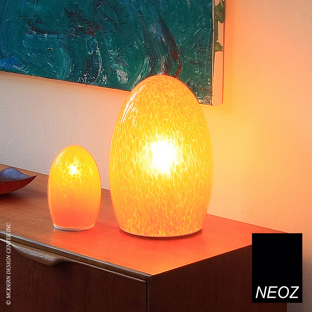 Egg fritted cordless table lamp neoz metropolitandecor quick view aloadofball Image collections