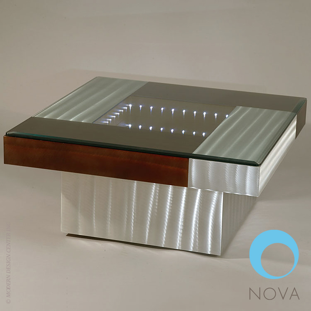 Square Infinity Cocktail Table | Nova