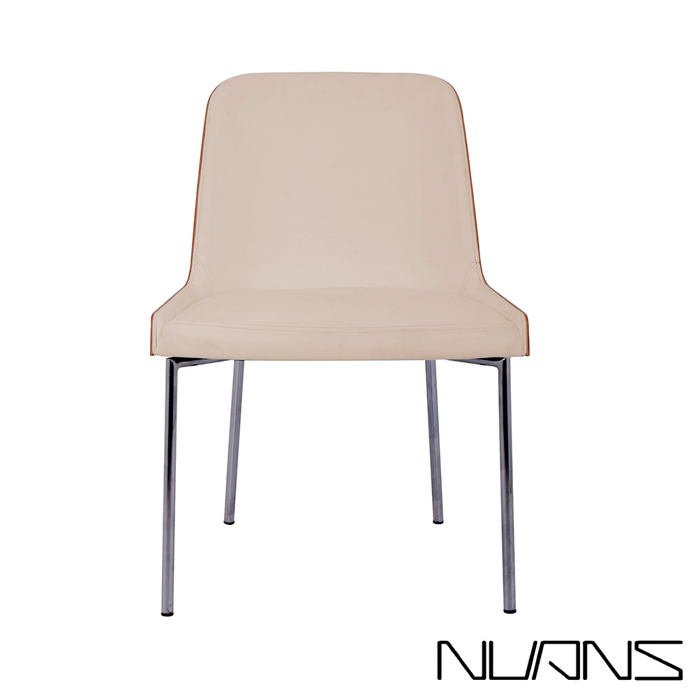 Hudson Plywood Chair Metal Base | Nuans