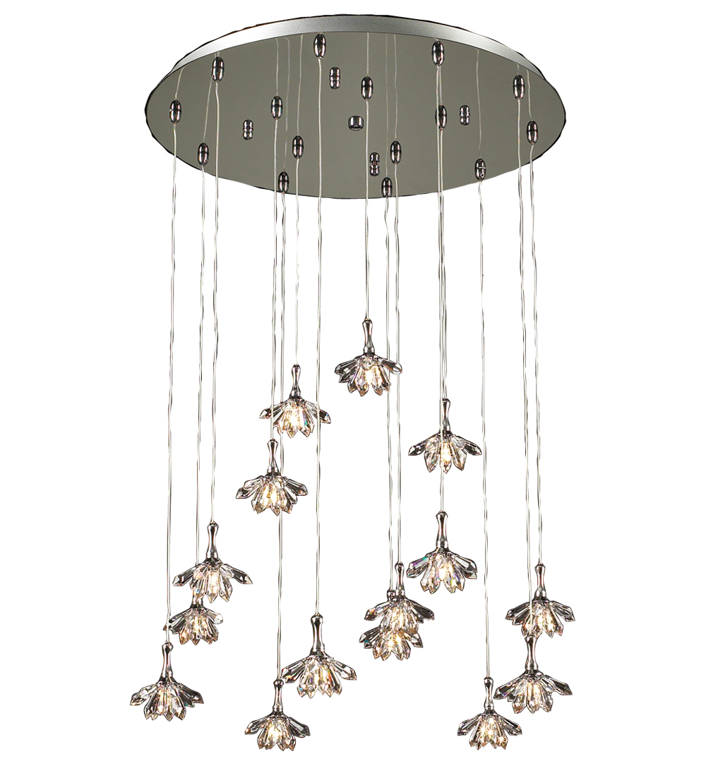 Confuzion 15-light Chandelier | PLC Lighting