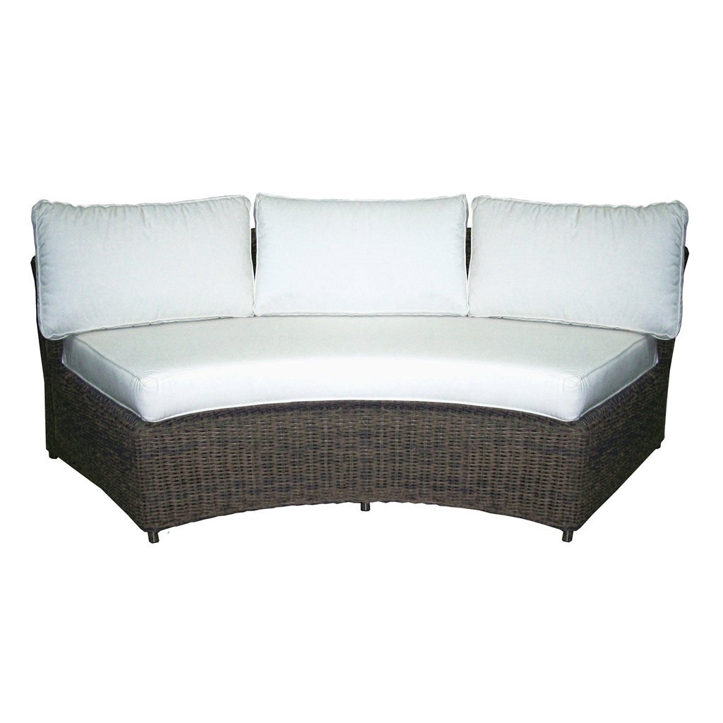 Outdoor Barbados Rounded Sofa | Padma's Plantation