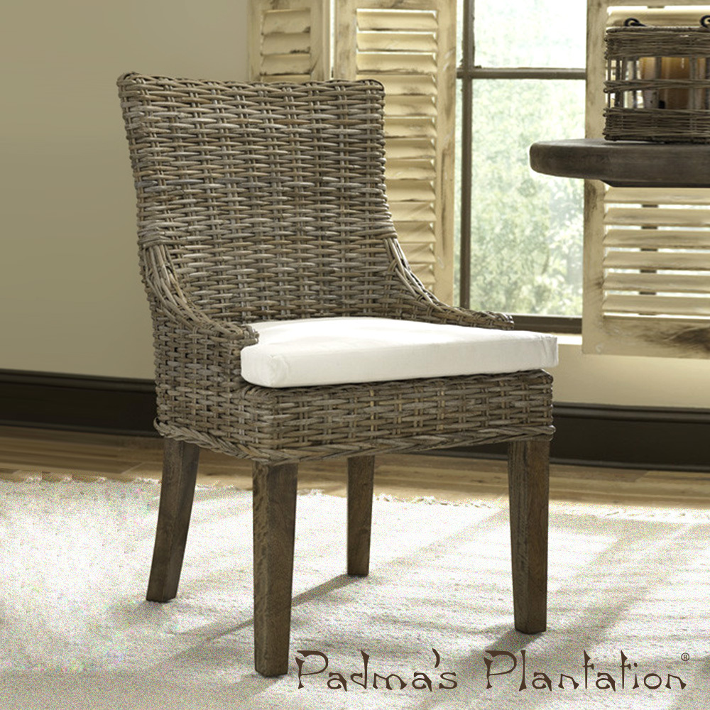 Alfresco Dining Chair Set of 2 | Padmau0027s Plantation & Kubu Dining Chair Set of 2 | Padmau0027s Plantation | MetropolitanDecor
