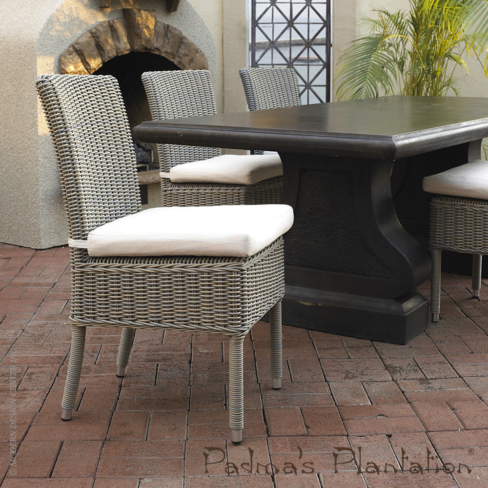 Outdoor Boca Dining Chair Padmau0027s Plantation MetropolitanDecor