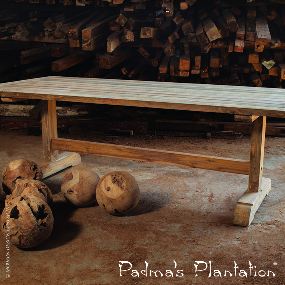 Outdoor Porto Fino Dining Table | Padma's Plantation
