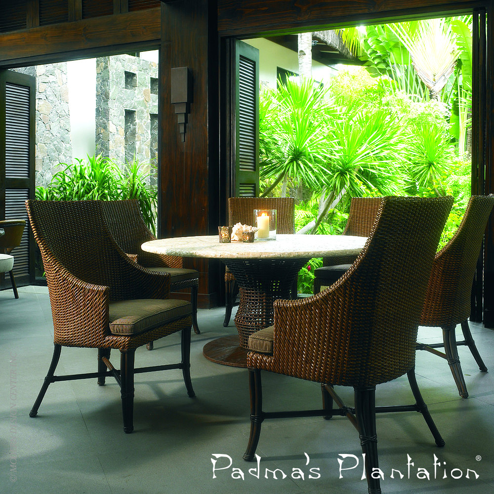 Palm Beach Outdoor Dining Chair Padma S Plantation