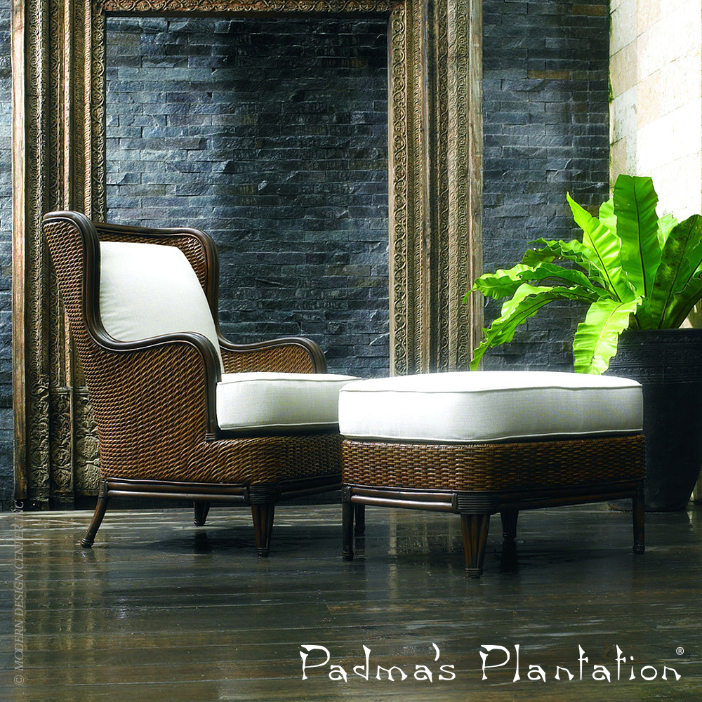 Palm Beach Outdoor Lounge Chair | Padma's Plantation