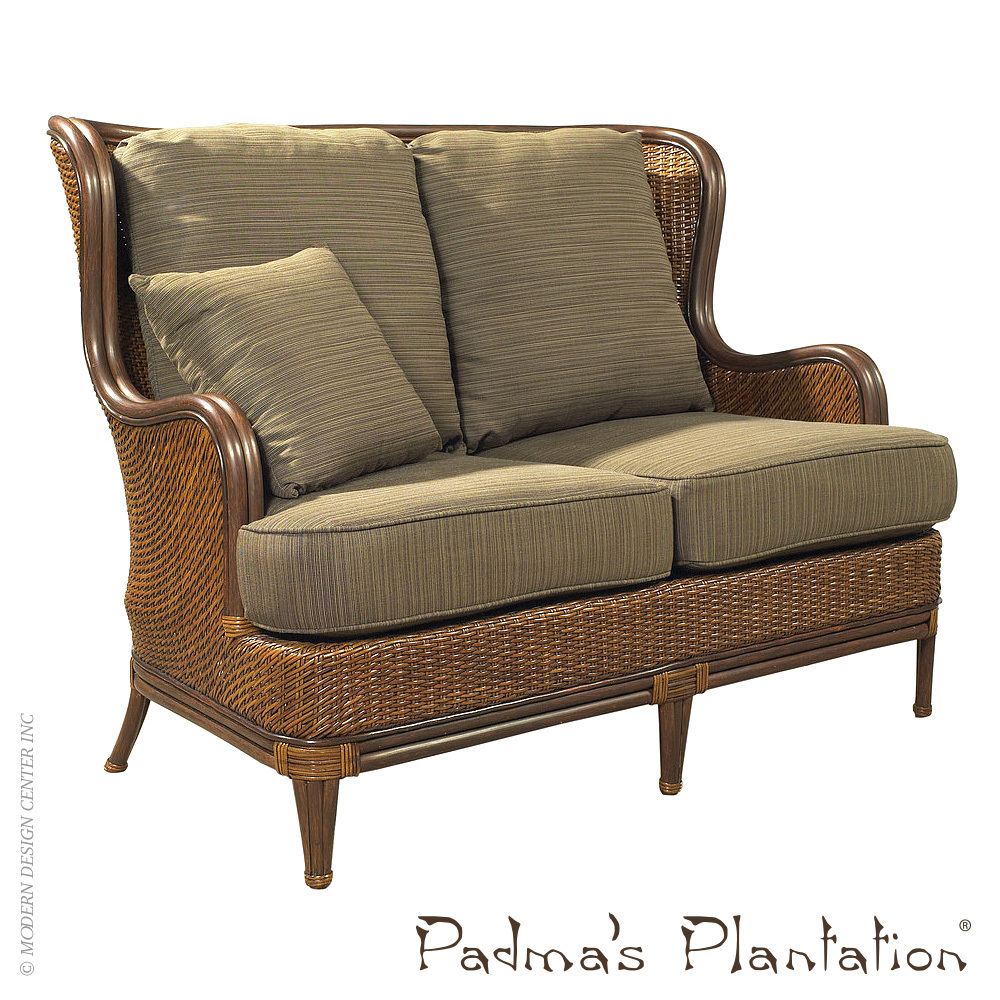 Palm Beach Outdoor Loveseat | Padma's Plantation