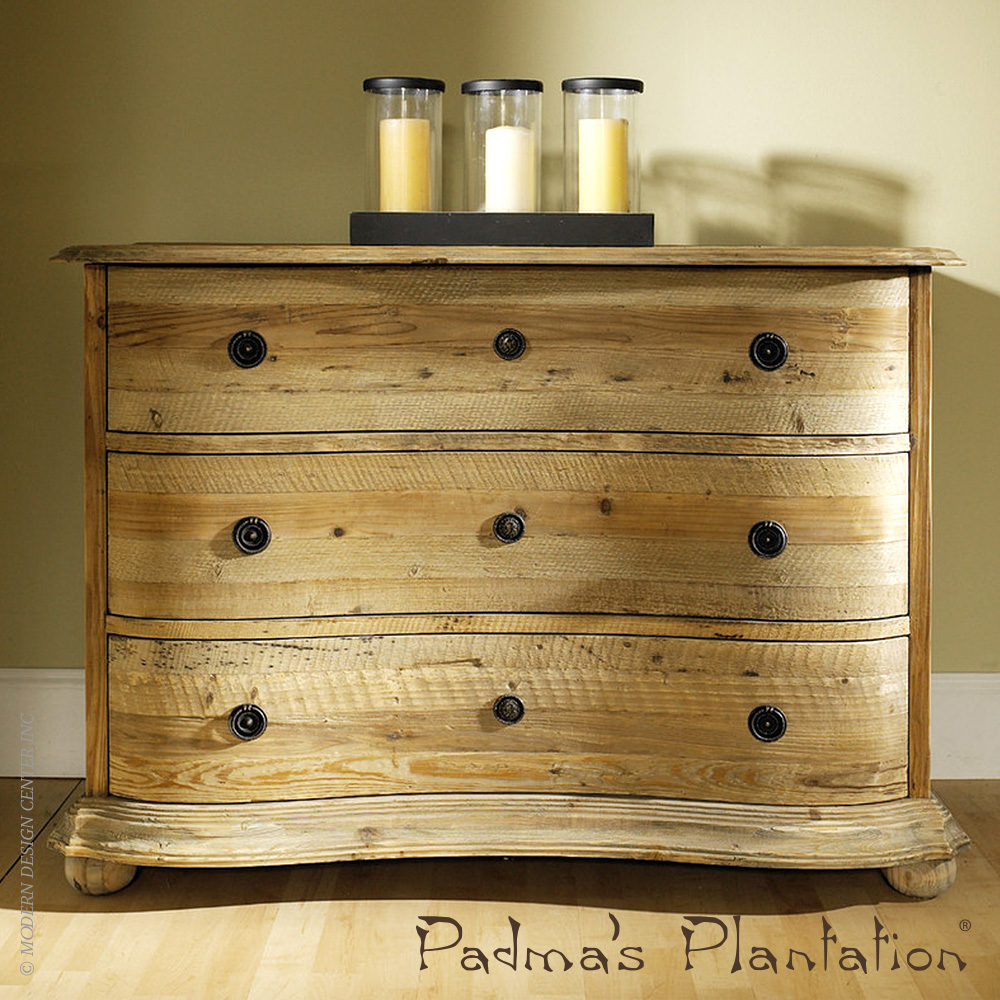 Salvaged Wood Dresser | Padma's Plantation