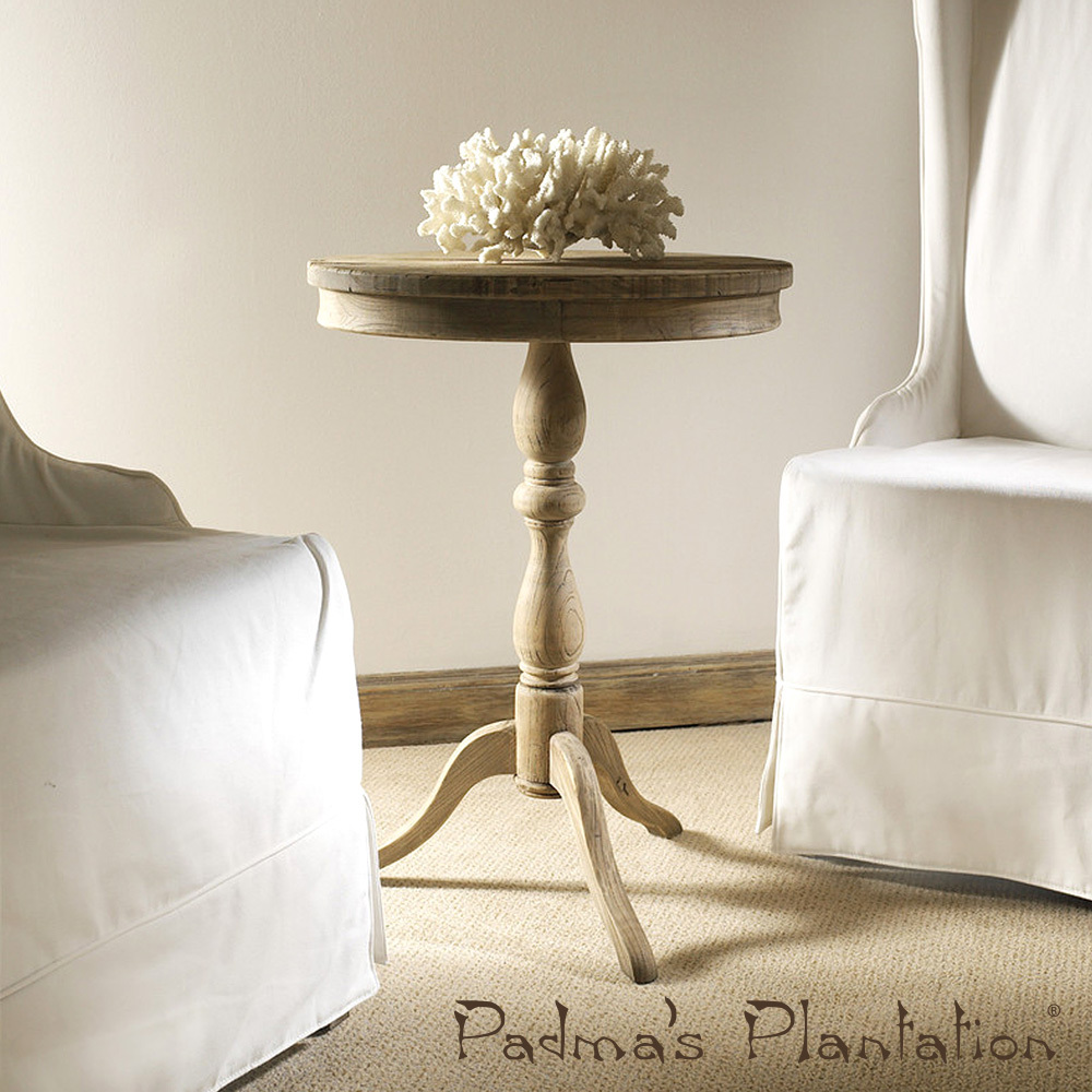 Salvaged Wood Side Table | Padma's Plantation