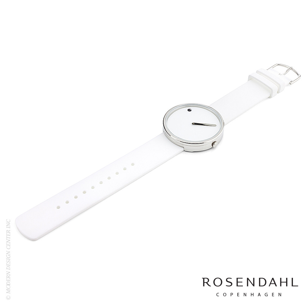 Picto Analog 40mm Watch White | Rosendahl