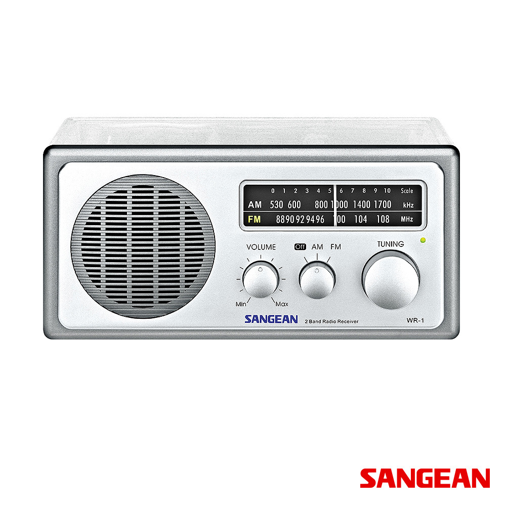 Analog AM FM Clear Table -0 Top Radio | Sangean