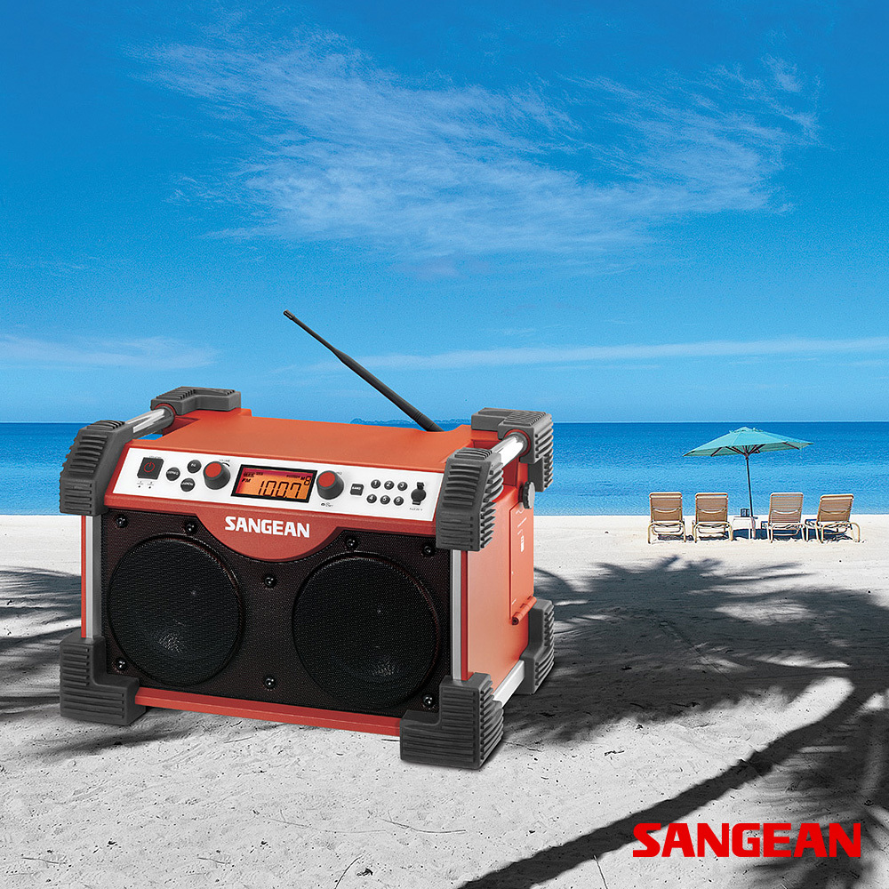 FATBOX FM AM Aux-in Ultra Rugged Radio | Sangean