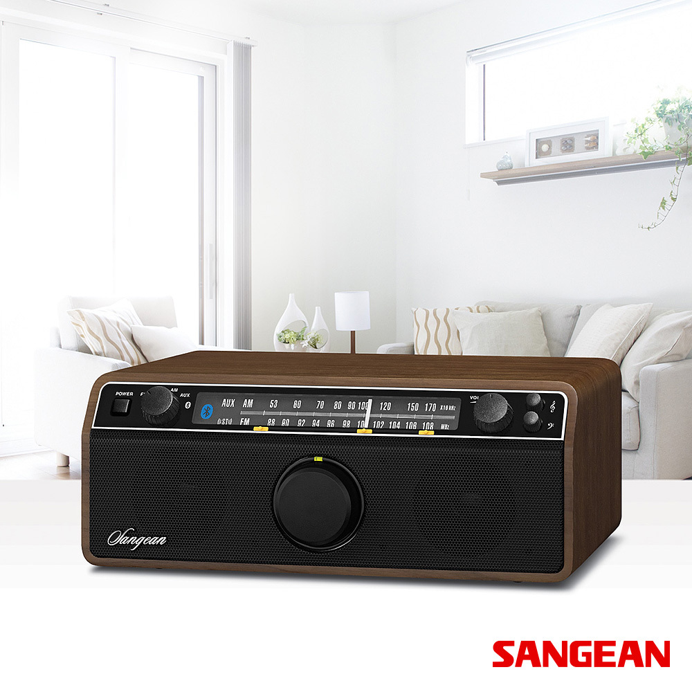 FM AM Aux-in Bluetooth Wooden Cabinet | Sangean