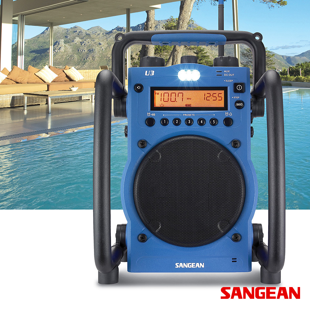 FM AM Ultra Rugged Digital Tuning Radio Receiver | Sangean