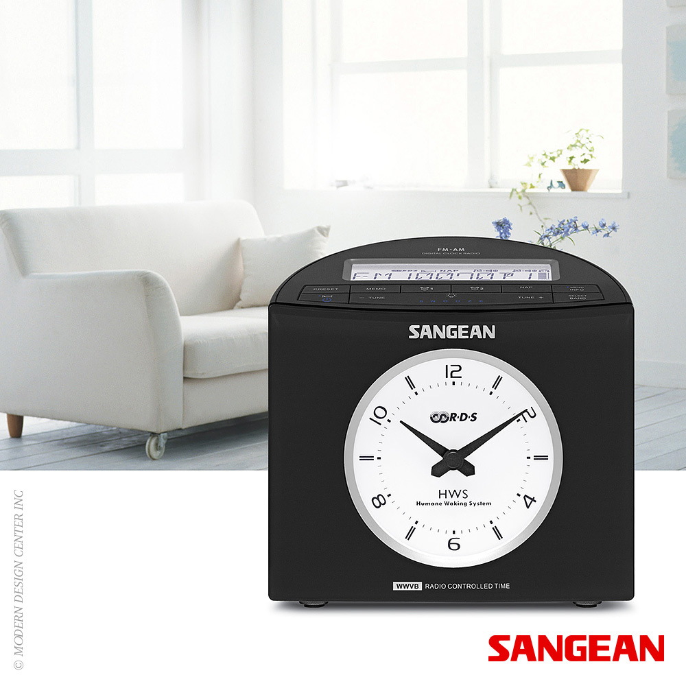 FM RDS (RBDS) AM Digital Tuning Atomic Clock | Sangean