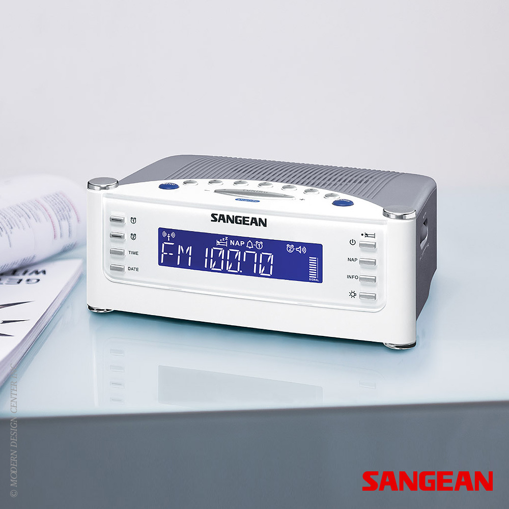 FM RDS AM Aux-in Tuning Clock Radio | Sangean