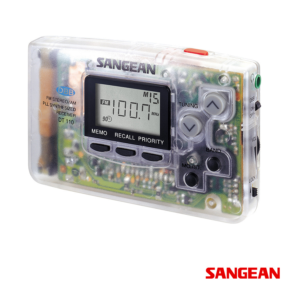 FM Stereo AM PLL Synthesized Pocket Clear | Sangean