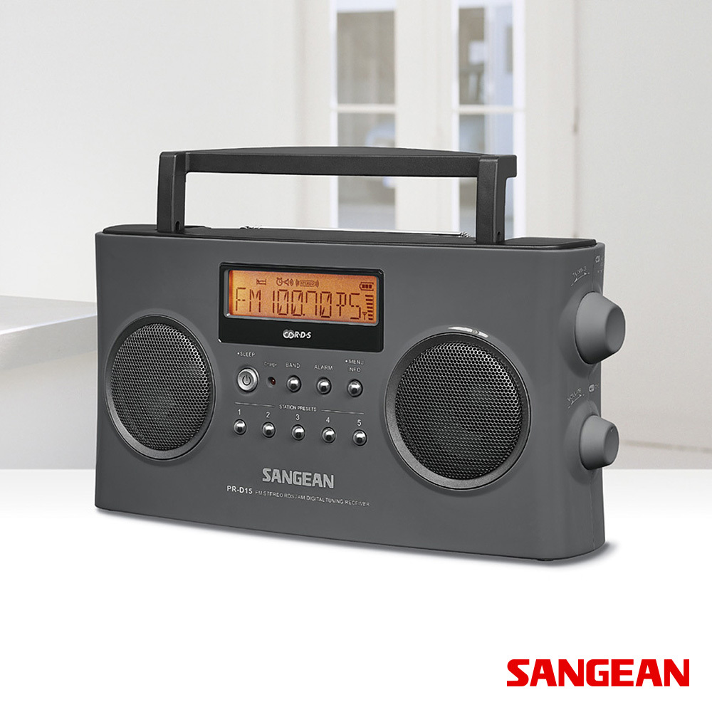 FM Stereo RDS (RBDS) AM Digital Tuning Portable | Sangean