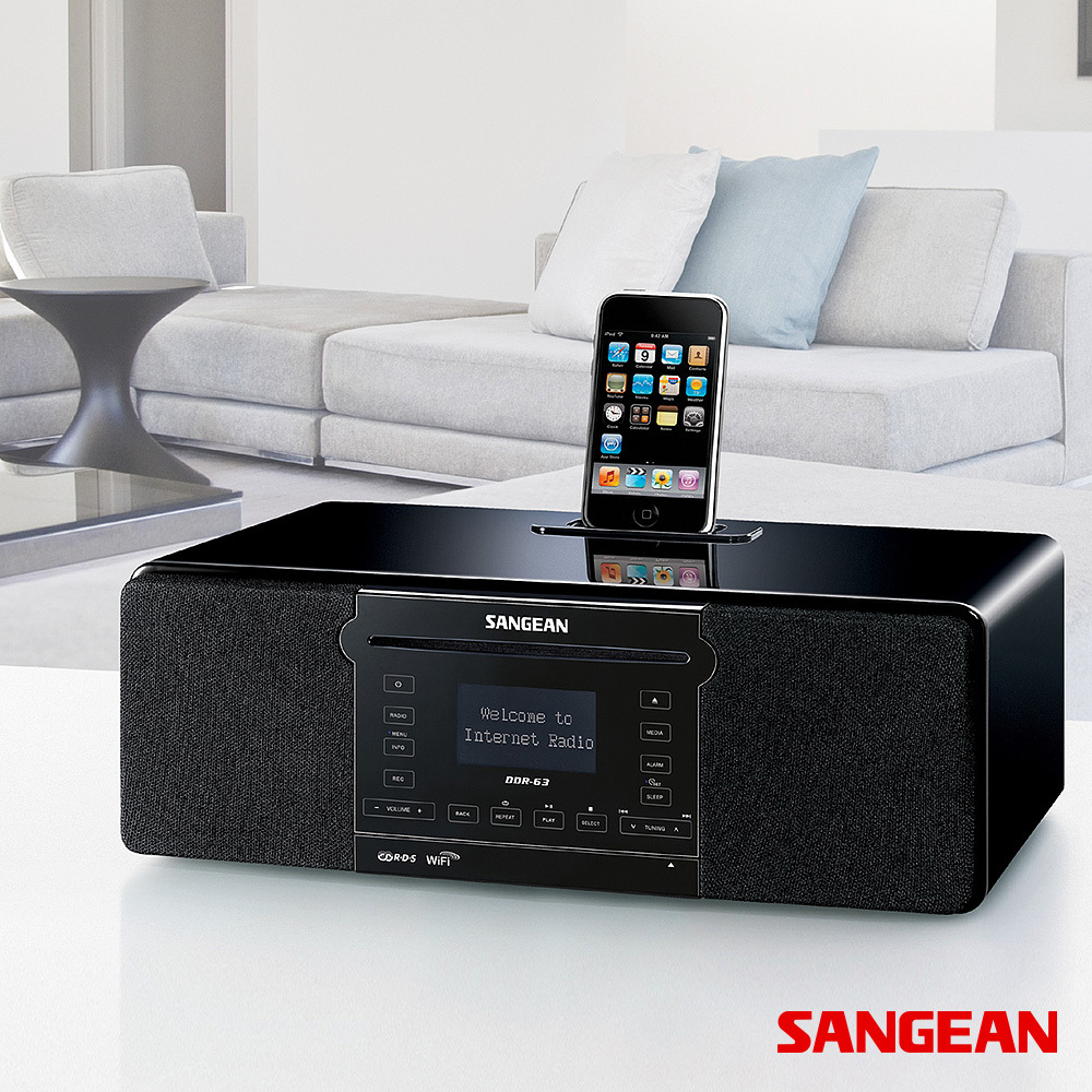 Internet Radio All-in-One Tabletop Musical System | Sangean