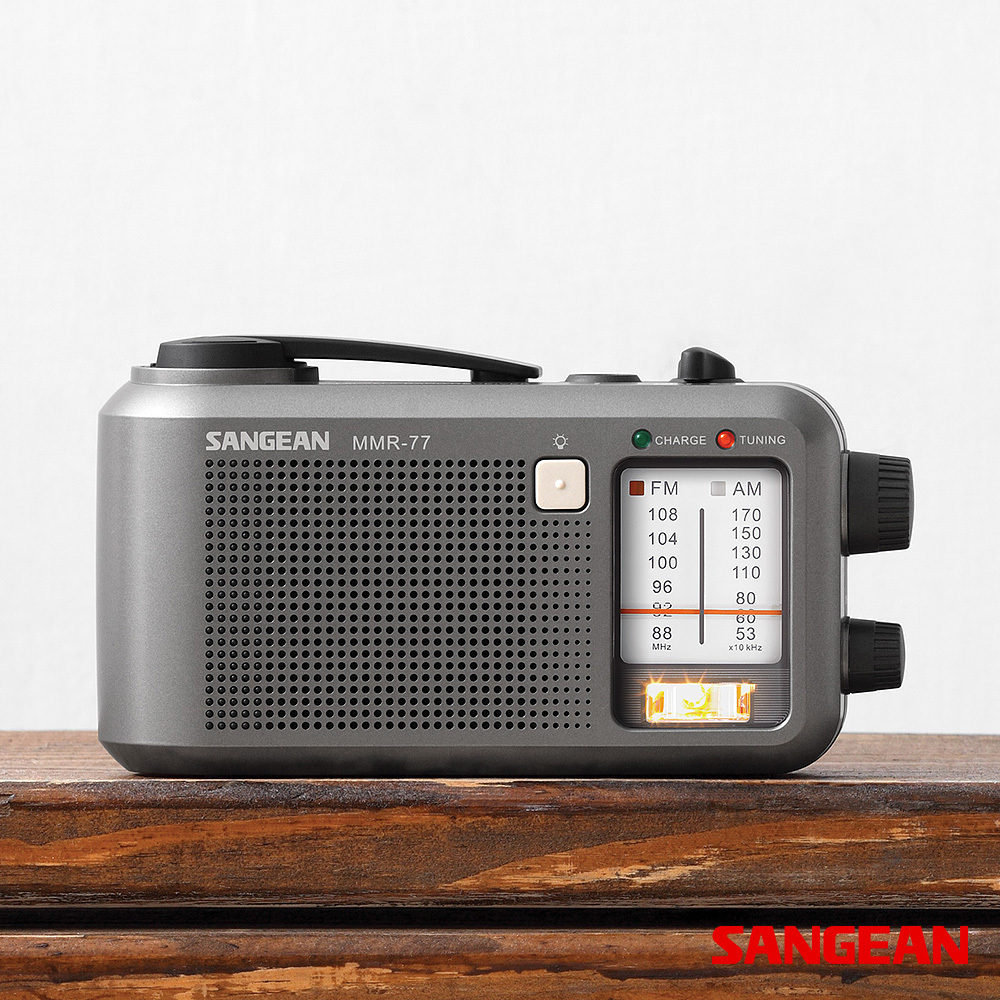 Multi-Powered FM AM Radio Receiver | Sangean