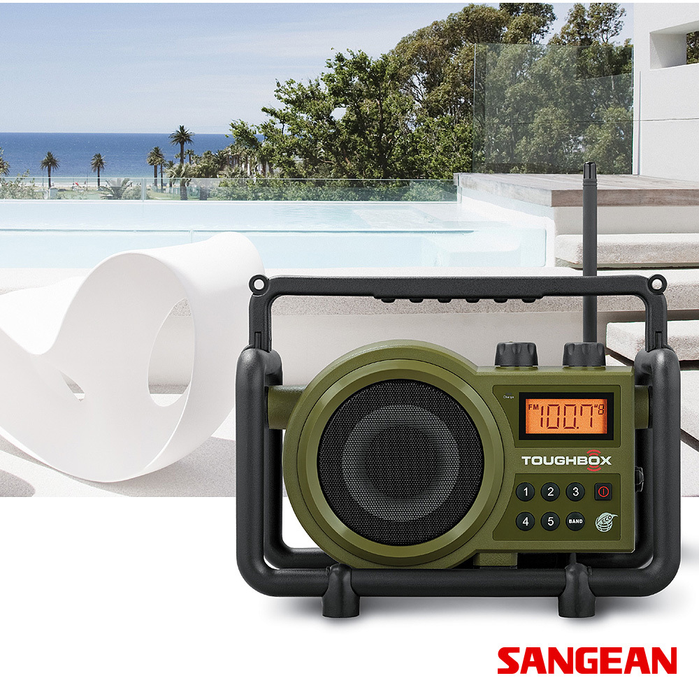 TOUGHBOX Ultra Rugged Digital Tuning Radio Receiver | Sangean