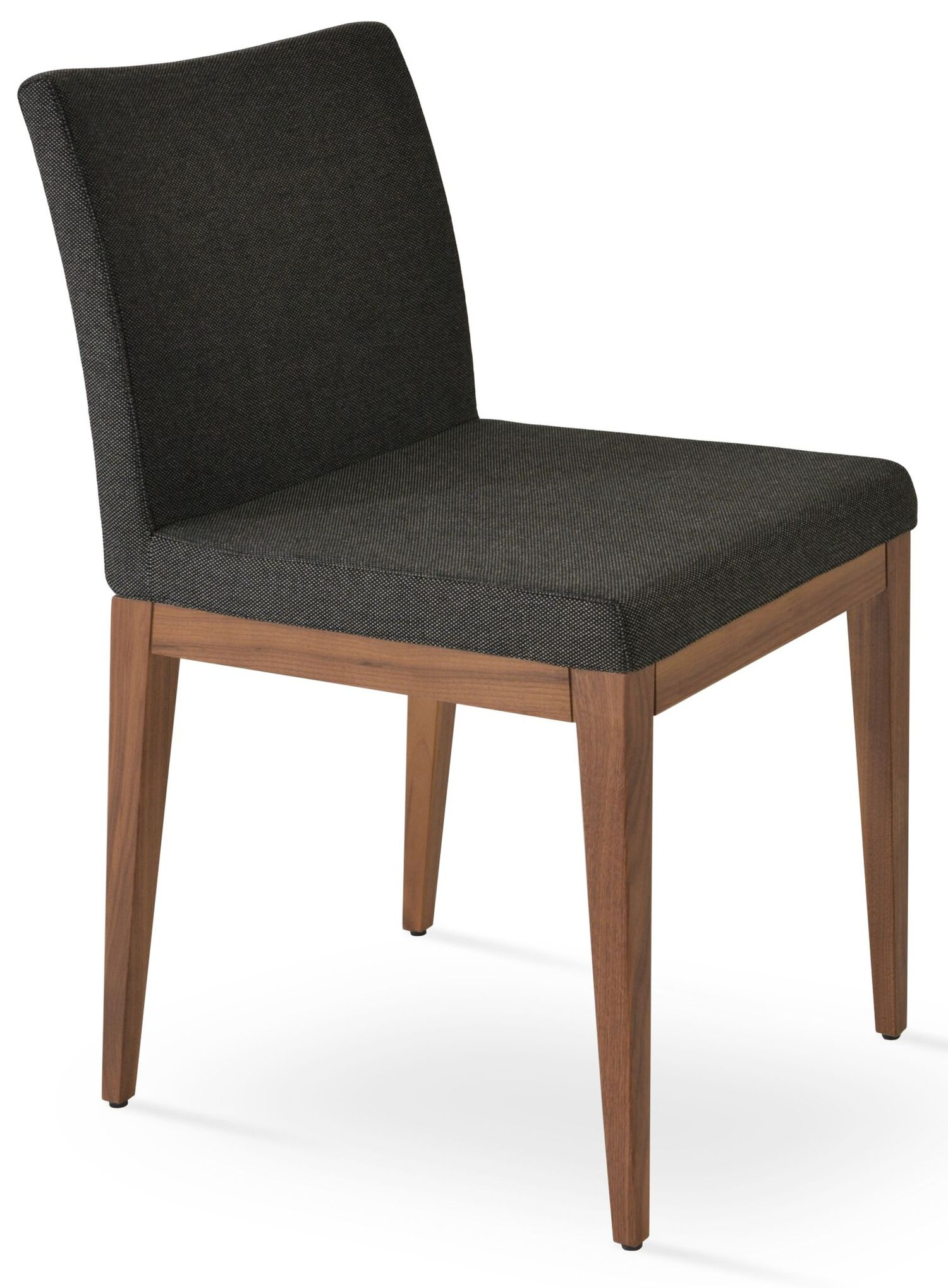 Aria Wood Dining Chair Fabric | SohoConcept